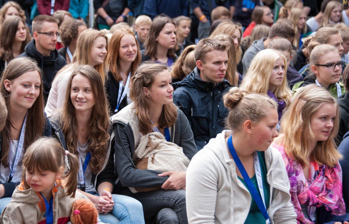 Menschenmenge-KAJAK-Oldenburg
