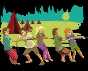 Konfi- und JugendCamps_Tauziehen_Kinder_Farbe klein