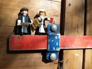 Luther und Katharina auf dem Riegel in Rastede